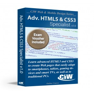 Advanced HTML5 & CSS3 Specialist Including Exam Voucher
