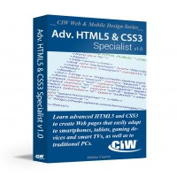 CIW Advanced HTML5 and CSS3 Specialist: Self-Study Kit Without Exam eCredit (Hard Copy)