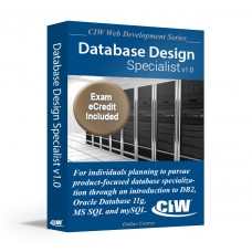 CIW Database Design Specialist: Self-Study Kit with PSI eCredit (Hard Copy)