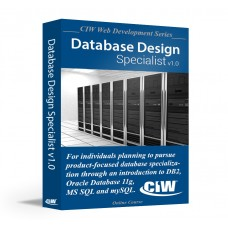 CIW Database Design Specialist: Self-Study Kit Without Exam eCredit (Hard Copy)