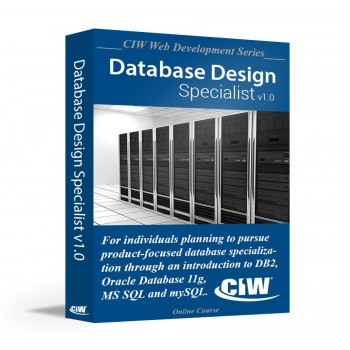 CIW Database Design Specialist: Self-Study Kit Without Exam eCredit (Electronic Copy)