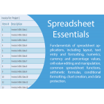 ICT Spreadsheet Essentials