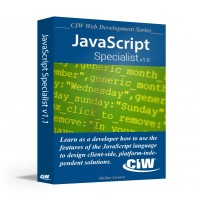 CIW JavaScript Specialist: Self-Study Kit Without Exam eCredit (Hard Copy)