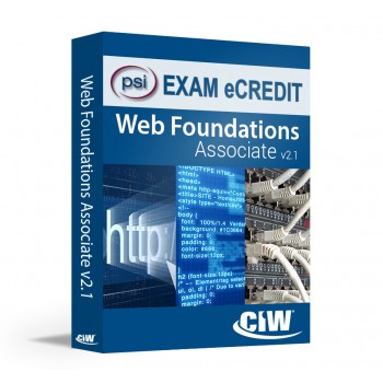 CIW Web Foundations Associate PSI eCredit (Exam 1D0-610)