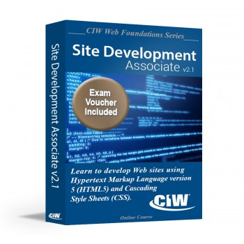 CIW Site Development Associate: Self-Study Kit With Exam Voucher (Hard Copy)