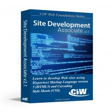 CIW Site Development Associate: Self-Study Kit Without Exam eCredit (Hard Copy)
