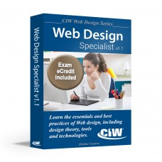 CIW Web Design Specialist (CS6): Self-Study Kit with PSI eCredit (Hard Copy)