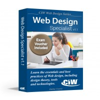 CIW Web Design Specialist (CS6): Self-Study Kit With Exam Voucher (Hard Copy)