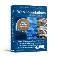 CIW Web Foundations Associate: Self-Study Kit With Exam Voucher (Hard Copy)