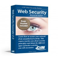 CIW Web Security Associate: Self-Study Kit With Exam Voucher (Hard Copy)