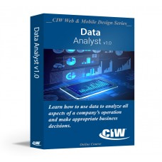 CIW Data Analyst: Self-Study Kit Without Exam eCredit (Electronic Copy)