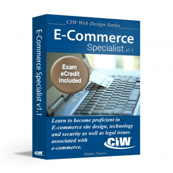 CIW E-Commerce Specialist: Self-Study Kit with PSI eCredit (Hard Copy)